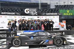 Podyum: 1. Ricky Taylor, Jordan Taylor, Max Angelelli, Jeff Gordon, Wayne Taylor Racing