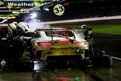 Pit stop, #50 Riley Motorsports Mercedes AMG GT3: Gunnar Jeannette, Cooper MacNeil, Shane van Gisber