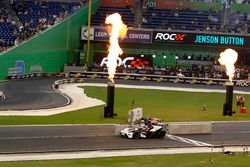 Tom Kristensen y Jenson Button en el KTM X-Bow Comp R