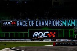 Kyle Busch, driving the ROC Car