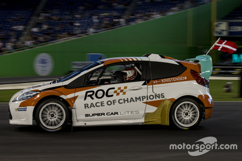 Tom Kristensen, in de RX Supercar Lite