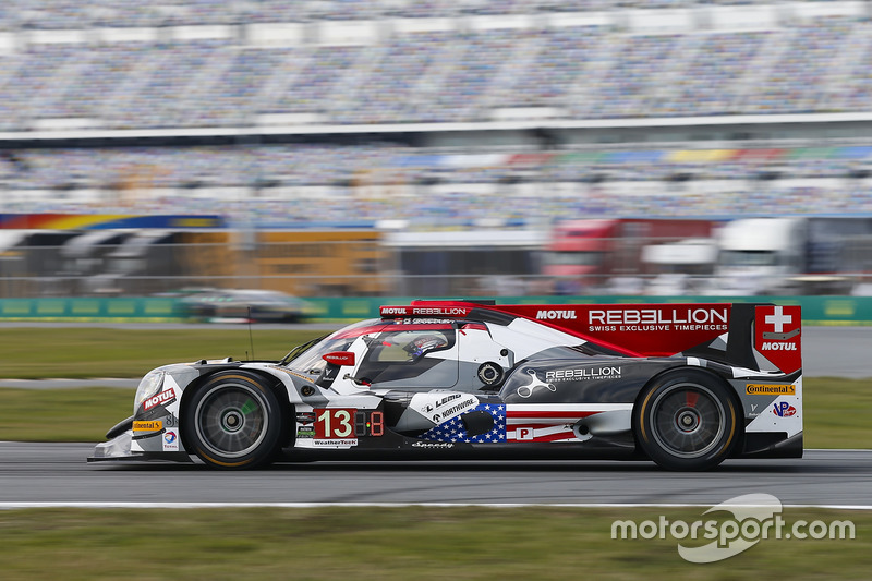 8. P: #13 Rebellion Racing, ORECA 07