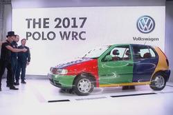 Die gespielte VW-Präsentation für die WRC 2017 (Screenshot)