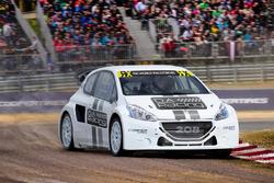 Peugeot 206 WRX Test car, DA Racing