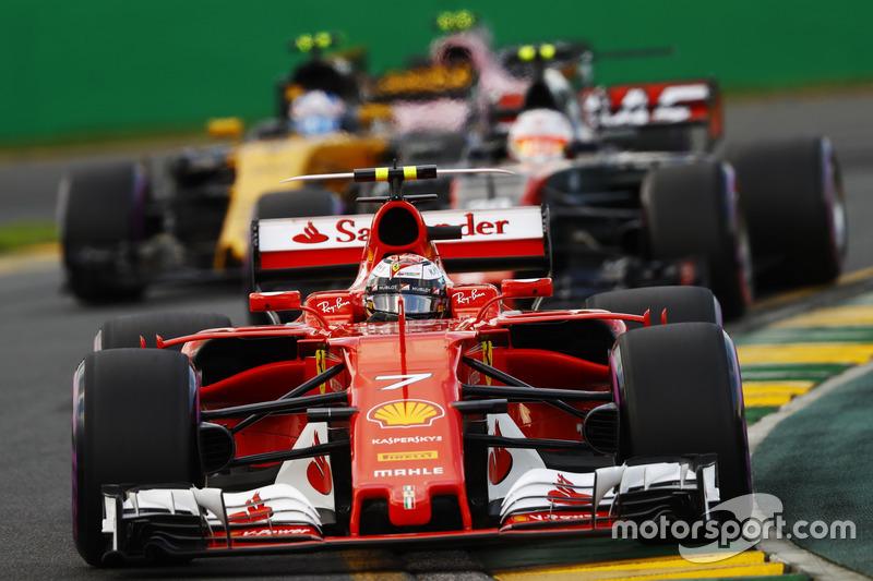 4: Кімі Райкконен, Ferrari SF70H