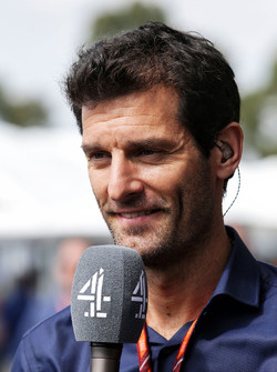 Mark Webber, Channel 4 Presenter