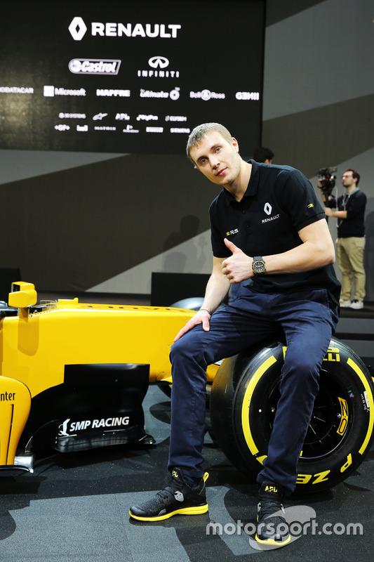 Sergey Sirotkin, Ersatzfahrer, Renault Sport F1 Team
