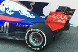 Toro Rosso STR12, detalle trasero