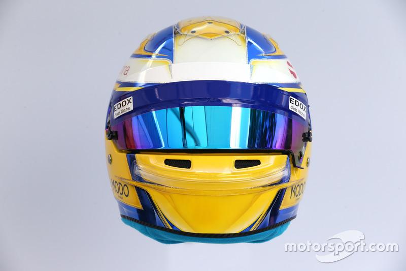 Helm von Marcus Ericsson, Sauber
