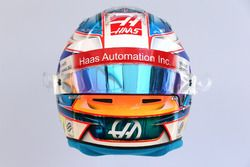 Casco de Romain Grosjean, Haas F1 Team