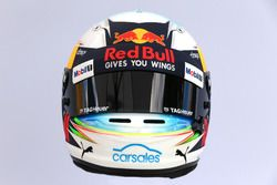 Casco de Daniel Ricciardo, Red Bull Racing RB13
