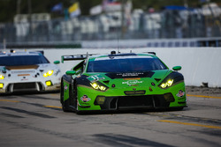 #11 GRT Grasser Racing Team Lamborghini Huracan GT3: Christian Engelhart, Rolf Ineichen, Richard Ant