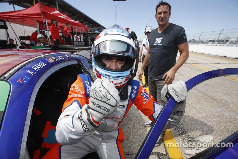 Il vincitore della pole GTD Tristan Vautier, SunEnergy1 Racing