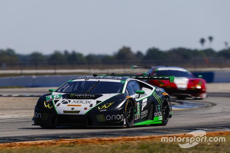 #16 Change Racing, Lamborghini Huracan GT3: Corey Lewis, Jeroen Mul, Brett Sandberg