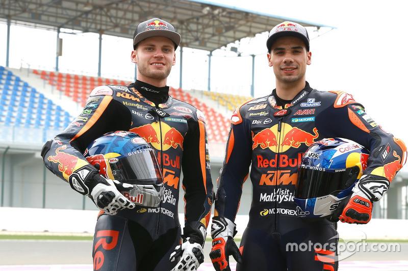 Brad Binder und Miguel Oliveira, Red Bull KTM Ajo