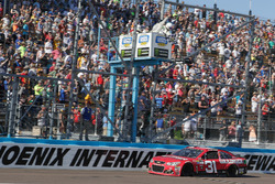 Checkered flag for Ryan Newman, Richard Childress Racing Chevrolet
