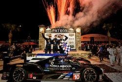 Winnaars #10 Wayne Taylor Racing Cadillac DPi: Ricky Taylor, Jordan Taylor, Alex Lynn