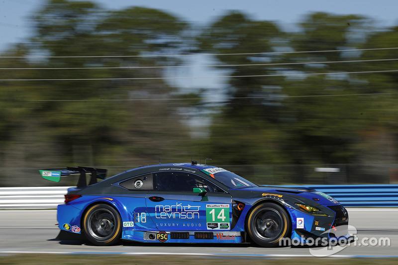 5. GTD: #14 3GT Racing, Lexus RCF GT3