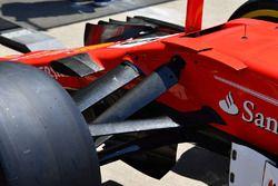 Ferrari SF70H front suspension detail