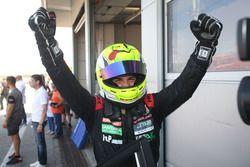 Il vincitore della gara Eric Scalvini, MM Racinge, Honda Civic TCR-TCR