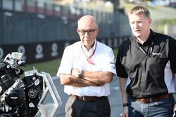 Triumph Moto2 engine supplier for 2019, Carmelo Ezpeleta, CEO Dorna, Andrew Stroud