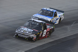 John Hunter Nemechek, SWM-NEMCO Motorsports, Chevrolet; Brandon Jones, Chevrolet