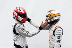 Loic Duval, Dragon Racing y Jérôme d'Ambrosio, Dragon Racing