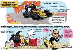 L'humeur de Cirebox - Kubica, un retour qui donne des idées