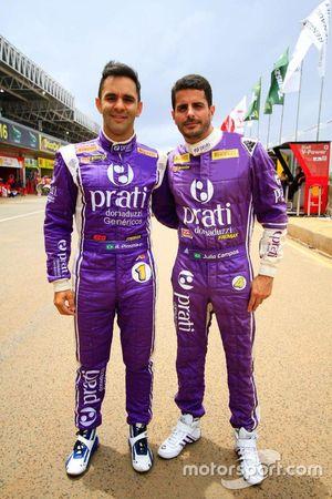 Antonio Pizzonia e Júlio Campos