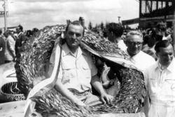 Racewinnaar Hermann Lang, Mercedes