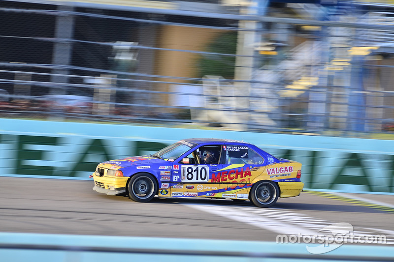#810 MP3B BMW 325 driven by Pedro Rodriguez & Alberto De Las Casas of TML USA