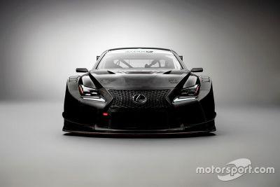 LEXUS RC F GT3发布