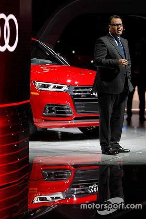 Dr Dietmar Voggenreiter, Audi Board Member