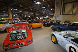 Porsche 911s and a Ford GT40 among the Coys line-up