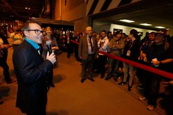 Jacques Villeneuve opens the Autosport International Show on Sunday