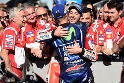 1. Andrea Dovizioso, Ducati Team; 2. Maverick Viñales, Yamaha Factory Racing