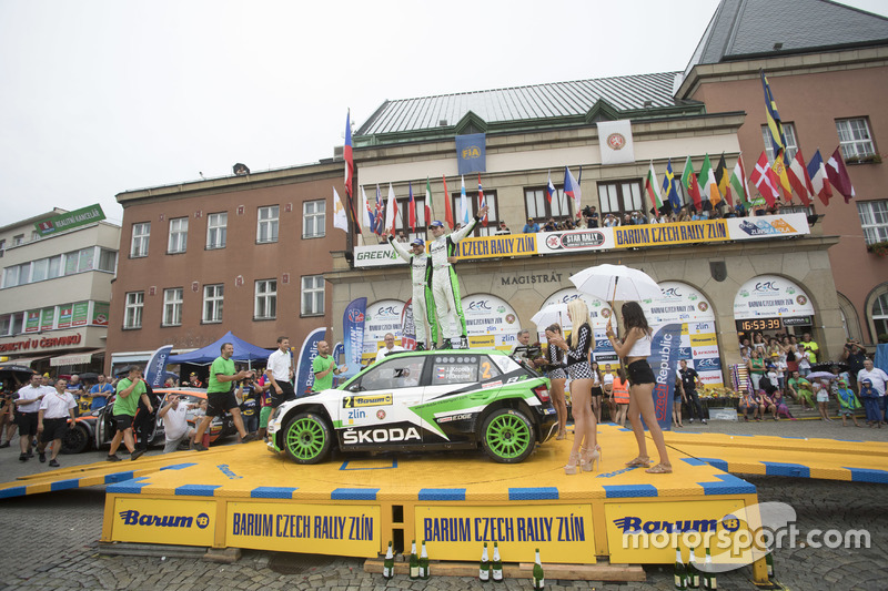 Jan Kopecky e Pavel Dresler, SKODA Motorsport