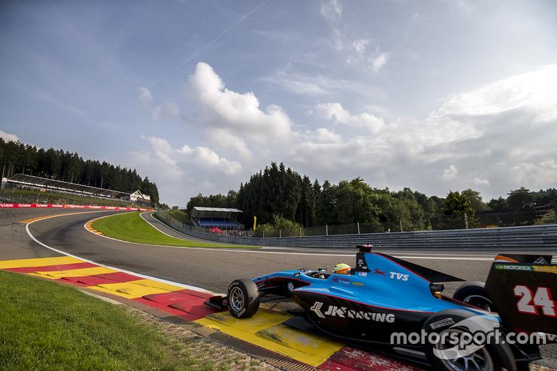Arjun Maini (GP3 Spa-Francorchamps)