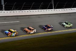 Matt Kenseth, Joe Gibbs Racing, Toyota; Kyle Busch, Joe Gibbs Racing, Toyota; Denny Hamlin, Joe Gibb