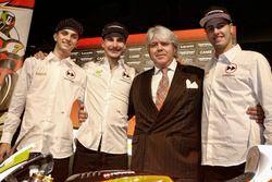 Giovanni Cuzari met Luca Marini, Lorenzo Baldassarri, Forward Racing