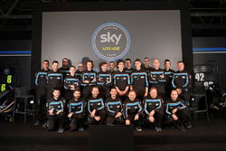 Foto de grupo de pilotos Sky Racing Team VR46