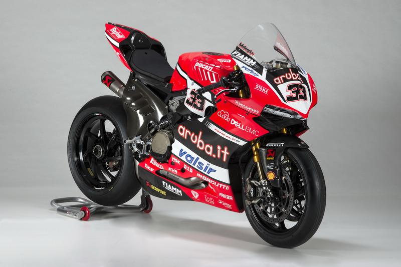 Moto de Marco Melandri, Ducati Team