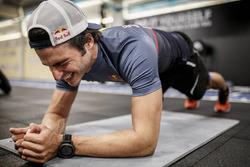 Carlos Sainz Jr., Scuderia Toro Rosso, bei seinem Training