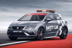 El nuevo Seat Leon Cupra safety car de WorldSBK