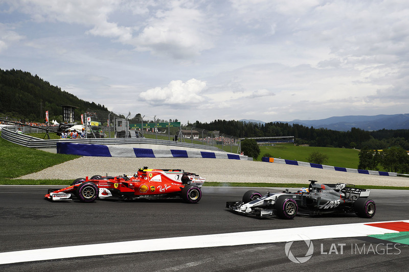 Гран При Австрии: круговым гонщикам по полной достается от Кими Райкконена