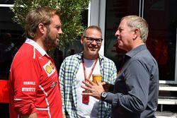 Gino Rosato, Ferrari, Jacques Villeneuve, Sky Italia, Martin Brundle, Sky TV