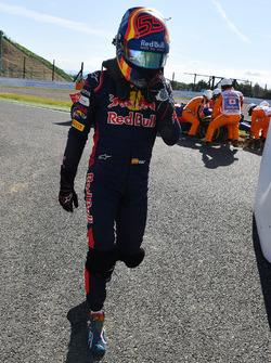 Race retiree Carlos Sainz Jr., Scuderia Toro Rosso