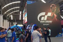 Stand de GT Sport en el Barcelona Games World