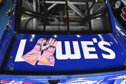 Jimmie Johnson, Hendrick Motorsports Chevrolet pembe eldiven