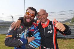 Stefano Comini, Comtoyou Racing, Audi RS3 LMS, Gabriele Tarquini, BRC Racing Team, Hyundai i30 N TCR